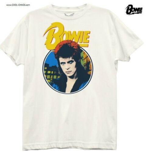 David Bowie T-Shirt / David Bowie 'Ziggy' Pop Art Boyfriend-Style Juniors Tee