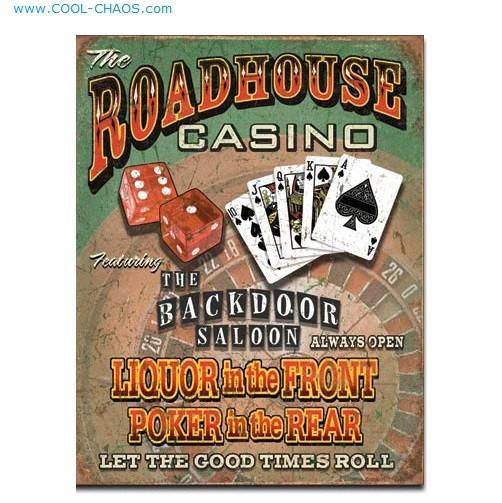 Roadhouse Casino Backdoor Saloon Sign