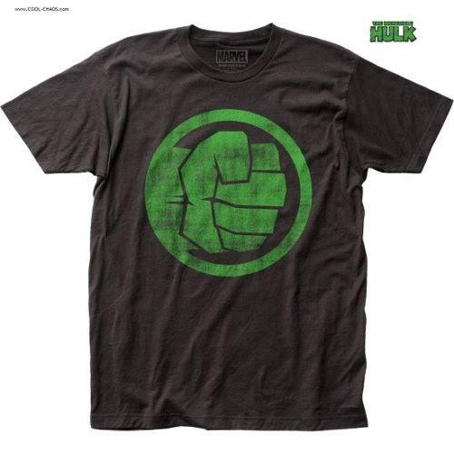 Hulk Angry Fist T-Shirt / Official Marvel Comics The Incredible Hulk Tee