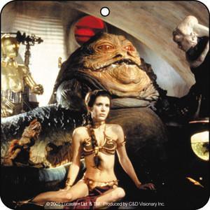 Princess Leia Jabba the Hut Air Freshener