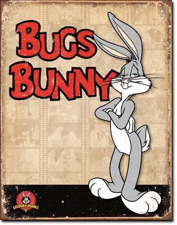 Bugs Bunny Tin Sign