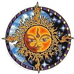 Buddha Sun Sticker