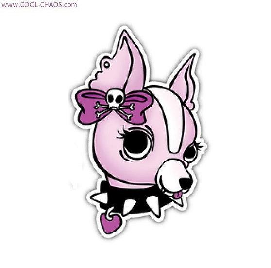 Rocker 'Chick' Cool Chihuahua Sticker