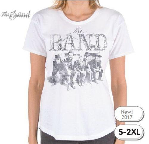 The Band T-Shirt / Retro Rock Juniors Tee / Official The Band Rock Tee