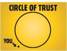 Funny Circle of Trust Magnet