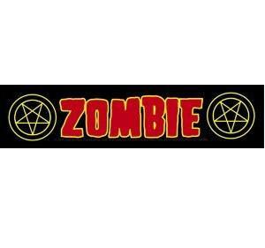 Rob Zombie Bumper Sticker