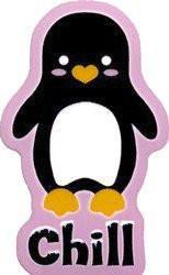 Chill Penguin Sticker
