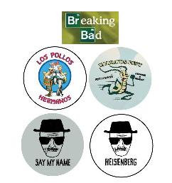 Breaking Bad Buttons