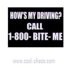 Call 1-800 Bite Me Keychain