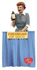 Vitameatavegamin I Love Lucy Magnet