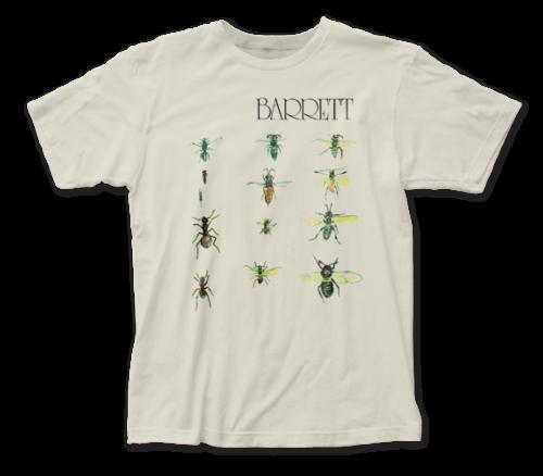 Syd Barrett T-Shirt / Syd Barret: BARRET 1970 Album Throwback Rock Tee