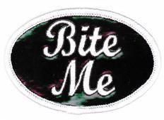 Bite Me Patch