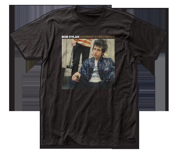 BOB DYLAN T-SHIRT / Bob Dylan Highway 61 Revisited Album Cover Retro Rock Tee