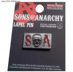 Sons of Anarchy Skull Lapel Pin