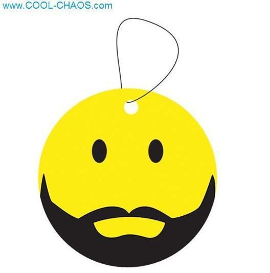 Beard Smiley Hipster Air Freshener