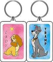 Lady and The Tramp Keychain