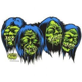Shrunken Heads Dirty Donny Sticker