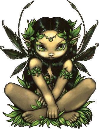 Allura Garden Fairy Sticker