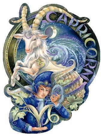 Jody Bergsma Romantic Capricorn Sticker