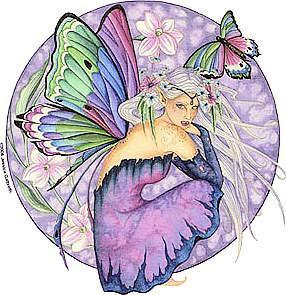 Jasmine Flower Fairy Sticker