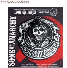 Reaper Head Sons of Anarchy Patch