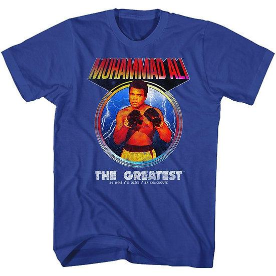 Muhammad Ali T-Shirt / The Greatest Win,Loss,Draw Ali Tee