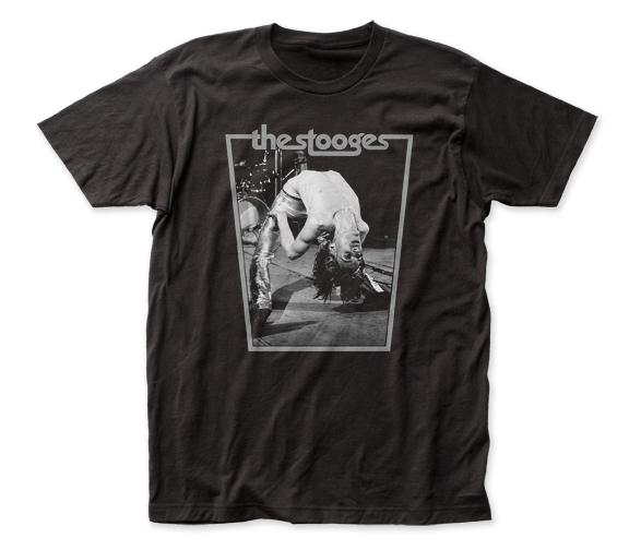 IGGY POP & THE STOOGES T-SHIRT / Iggy bend backwards Punk Tee