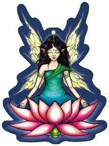 Meditation Lotus Fairy Air Freshener