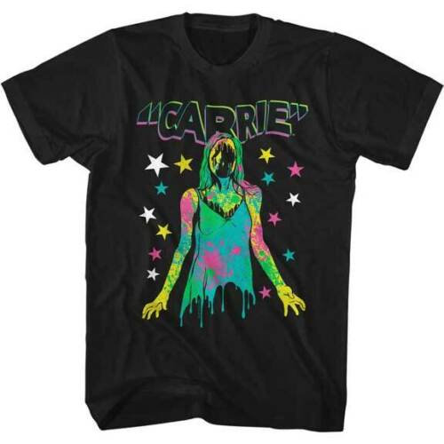 CARRIE T-Shirt / NEON CARRIE MOVIE BLOODY PROM QUEEN TEE