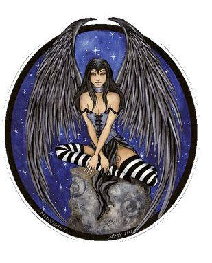 Midnight Star Fairy Sticker by Amy Brown