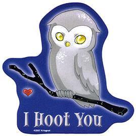 I hoot You Owl Sticker