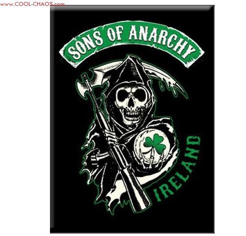 Ireland Sons of Anarchy Magnet