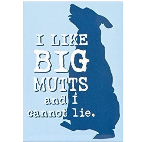 I like big Mutts Dog Magnet