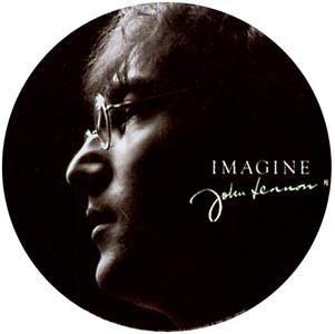 John Lennon Imagine Sticker