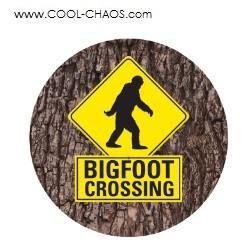 Bigfoot Crossing Bigfoot Button