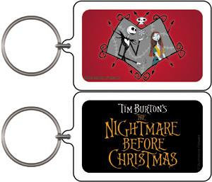 Nightmare Before Christmas Keychain #1 Jack and Sally