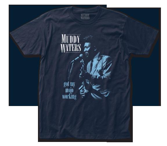 Muddy Waters T-Shirt / Got my Mojo Working Muddy Waters Blues Tee