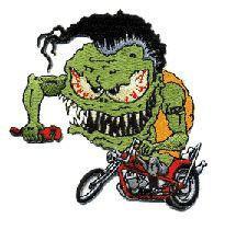 Monster Biker Patch