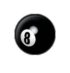Mini 8 Ball Button