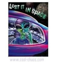 Lost in Space Alien Postcard