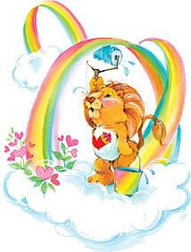 Care Bears Cousins Lion Sticker