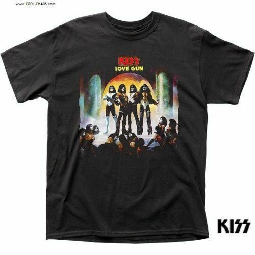 KISS K-Shirt / KISS LOVE GUN THROWBACK Rock Tee