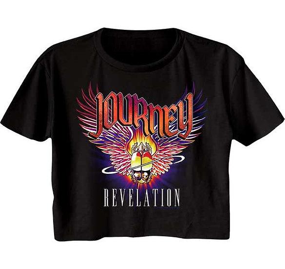 Journey Crop Top / Juniors Journey Revelations Half Shirt Tee