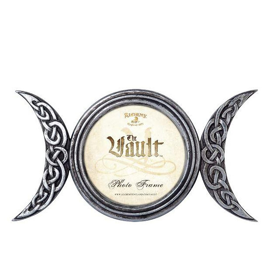 Triple Moon Picture Frame by Alchemy Gothic 1977