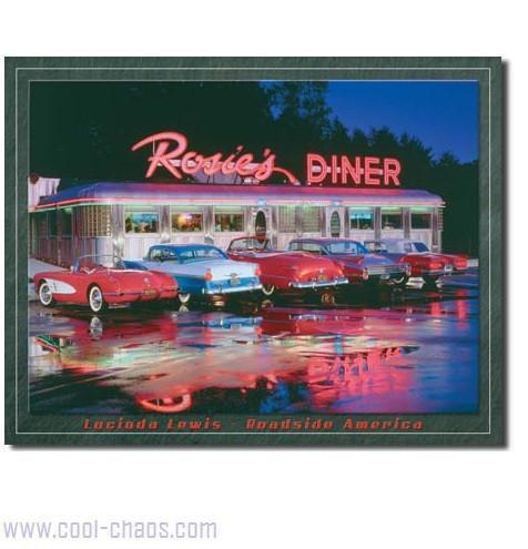 Rosie's Diner Sign