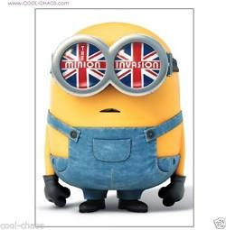 British Invasion Minion Magnet