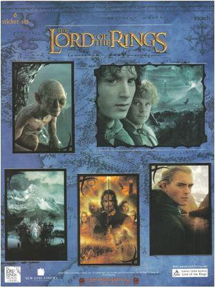 Lord of The Rings Movie Stickers
