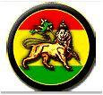 Rasta Lion Flag Mini Button