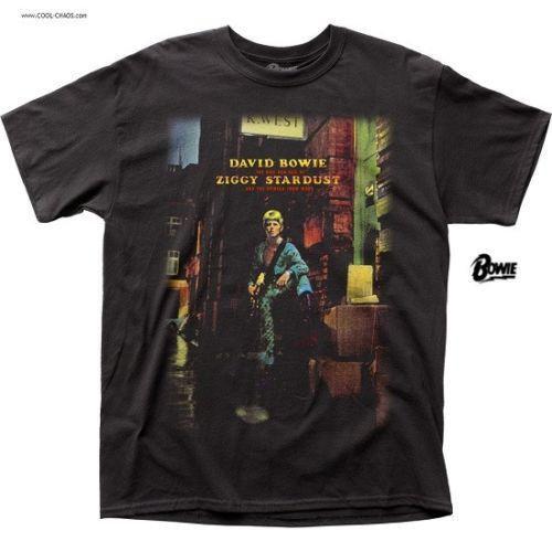 David Bowie Ziggy Stardust Album T-Shirt