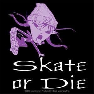 Ultra Vixen Sticker #2 Skate of Die Chick